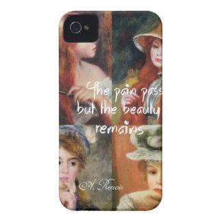 Arte, belleza y amor en las pinturas de Renoir Funda Para iPhone 4