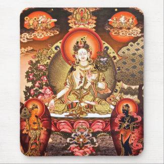 Arte budista tibetano Mousepad