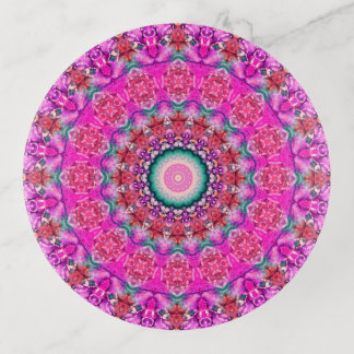 Arte colorido de la mandala del rosa y de la