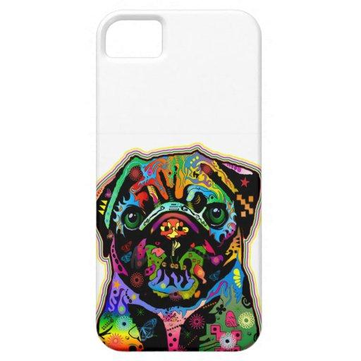 Arte colorido del barro amasado del mascota del ar iPhone 5 Case-Mate funda
