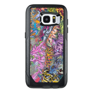 Arte colorido del diseño de la pintada funda OtterBox para samsung galaxy s7 edge