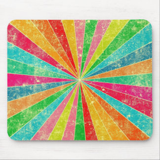 arte colorido del vector del arco iris tapetes de ratón