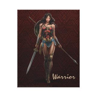 Arte cómico Batalla-Listo de la Mujer Maravilla