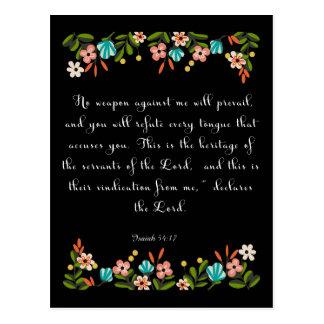 Arte cristiano de la cita - 54:17 de Isaías Postal