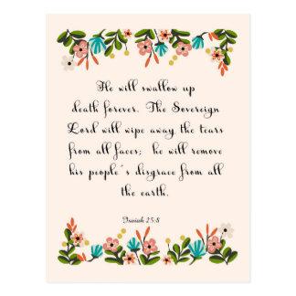 Arte cristiano fresco - 25:8 de Isaías Postal