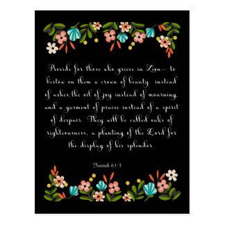 Arte cristiano fresco - 61:3 de Isaías Postal