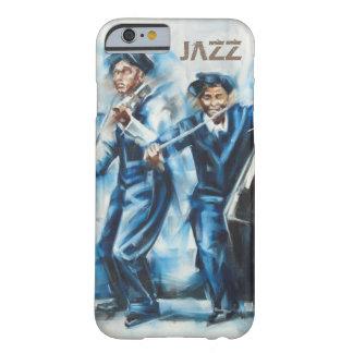 "Arte-Cubierta ""jazz "" de Iphone 6 Funda Para iPhone 6 Barely There"