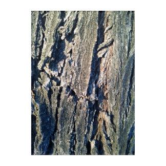 Arte de acrílico ligero de la pared del tronco de