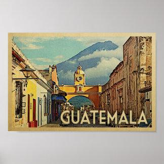 Arte de Antigua del viaje del vintage del poster