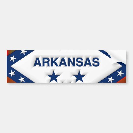 Arte de Arkansas Pegatina Para Coche