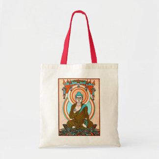 Arte de Buda del vintage Bolsas Lienzo