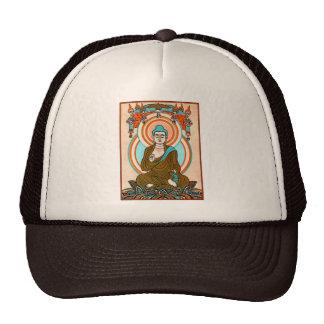 Arte de Buda del vintage Gorras