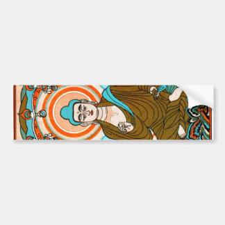 Arte de Buda del vintage Pegatina Para Coche