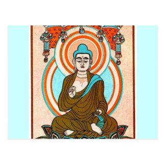 Arte de Buda del vintage Tarjetas Postales