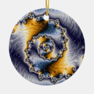 Arte de cadena del fractal ornamento para arbol de navidad