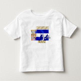 Arte de calificación del futbol de las fans de los camiseta de bebé