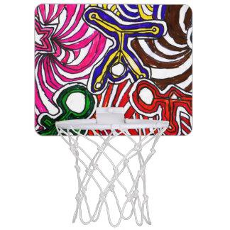 ¡Arte de Casey SÍ! Mini aro de baloncesto