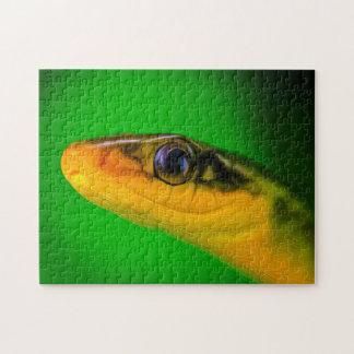 Arte de Digitaces de la serpiente 02 - Puzzle