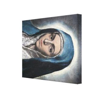 Arte de El Greco Impresión En Tela
