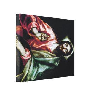 Arte de El Greco Impresion En Lona
