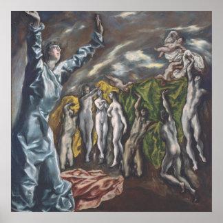 Arte de El Greco Póster