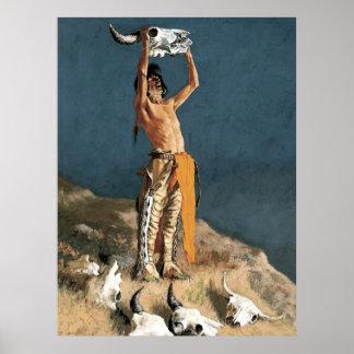 """Arte de Federico Remington """"que conjura detrás el"""