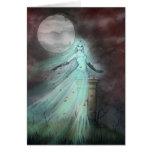 Arte de Halloween de la fantasía del fantasma de l