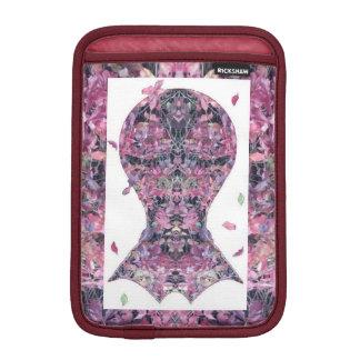 Arte de la cabeza del fractal de la enredadera de funda para iPad mini