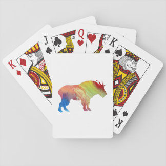 Arte de la cabra barajas de cartas