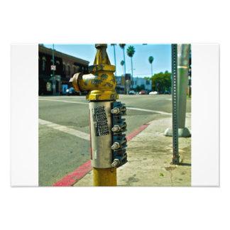 Arte de la calle del LA Cojinete