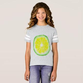 Arte de la camisa del fútbol de los chicas por