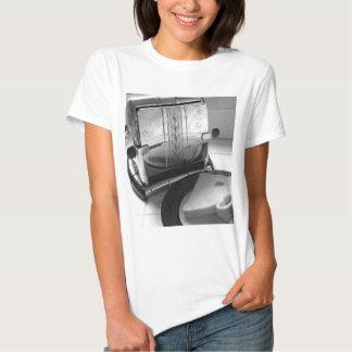 Arte de la cocina de la tostadora del vintage camiseta