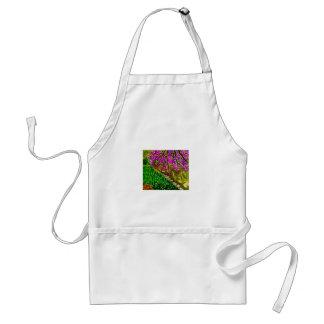 Arte de la flor de cerezo en delantal