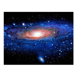 Arte de la galaxia postal