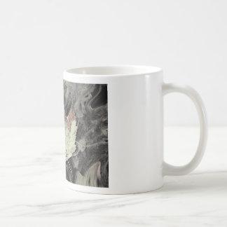 Arte de la hoja de arce del otoño taza de café