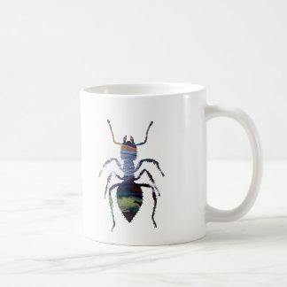 Arte de la hormiga taza de café