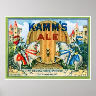 Arte de la impresión del anuncio de la bebida del  póster