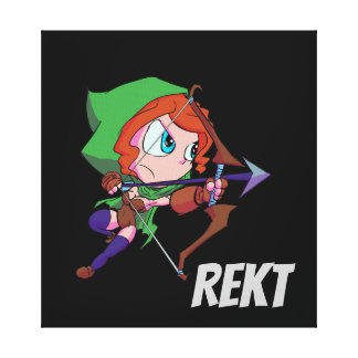 Arte de la lona de REKT