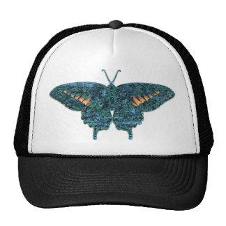 Arte de la mariposa gorro de camionero