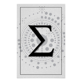 Arte de la matemáticas - sigma