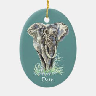 Arte de la naturaleza animal del elefante africano ornamentos de reyes magos