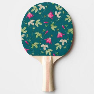Arte de la naturaleza pala de ping pong