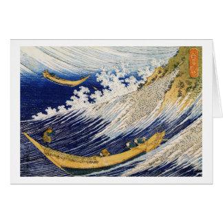 Arte de la obra maestra de Katsushika Hokusai de l Tarjeta Pequeña