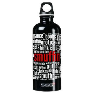 Arte de la palabra de Smuffin Botella De Agua