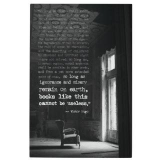 Arte de la pared de la cita de Victor Hugo de la
