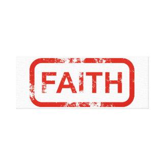 Arte de la pared de la fe