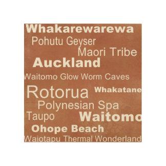 Arte de la pared de Nueva Zelanda