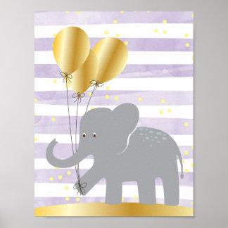 Arte de la pared del elefante