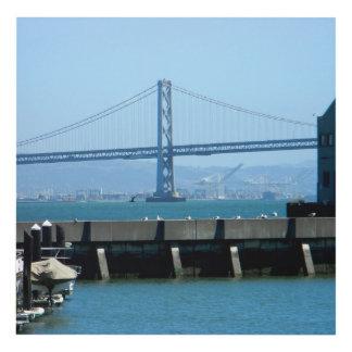 Arte de la pared del puente de San Francisco Bay