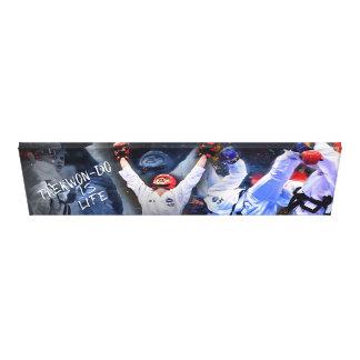 Arte de la pared del Taekwondo